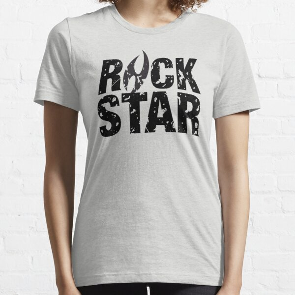 Logo Rock Star Essential T-Shirt