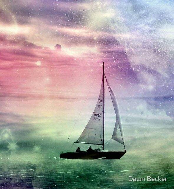 Fantasy Sailing © by Dawn Becker