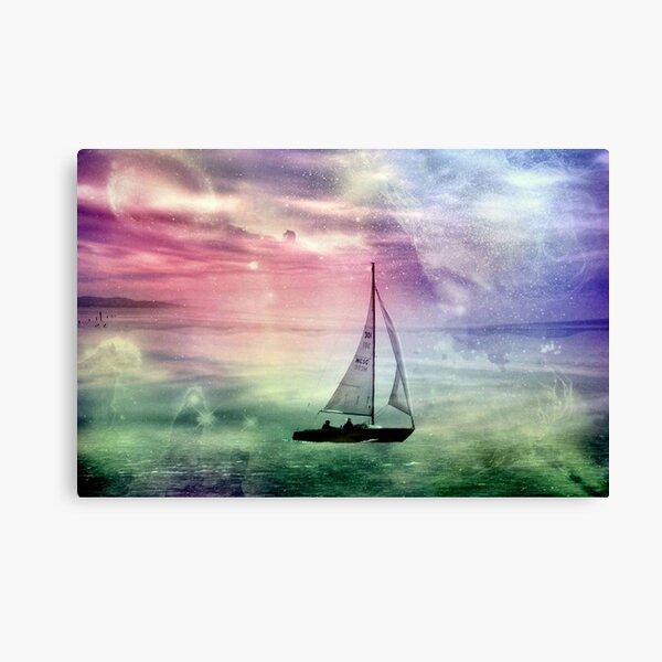 Fantasy Sailing © Canvas Print