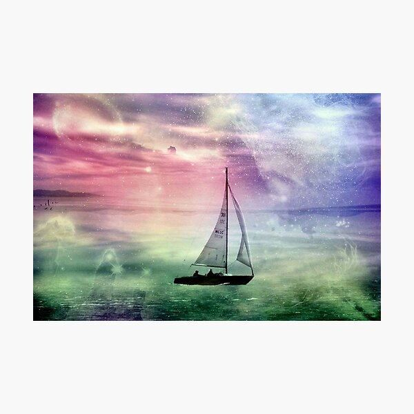 Fantasy Sailing © Photographic Print