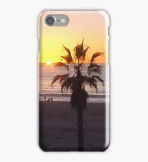 Sunset & Palmtree... iPhone Case/Skin