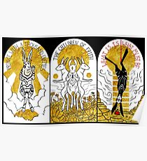 WATERSHIP DOWN TRIPTYCH Poster