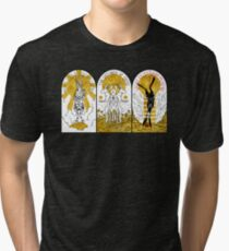WATERSHIP DOWN TRIPTYCH Tri-blend T-Shirt