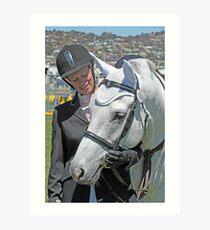 My Pony Calendar 2011 - Calendar Royal Hobart Show - Pic 2 Art Print