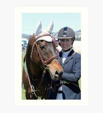 My Pony Calendar - 2011 Royal Hobart Show - Pic 3 Art Print