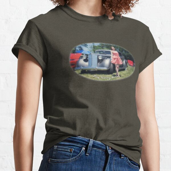 Vintage Car & The History Girl Classic T-Shirt