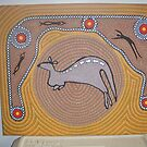 Kangaroo Dreaming by Derek Trayner