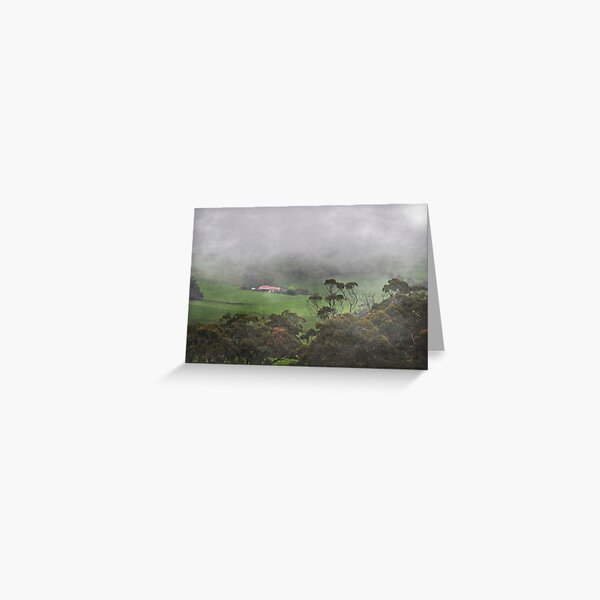 All Fogged In Greeting Card