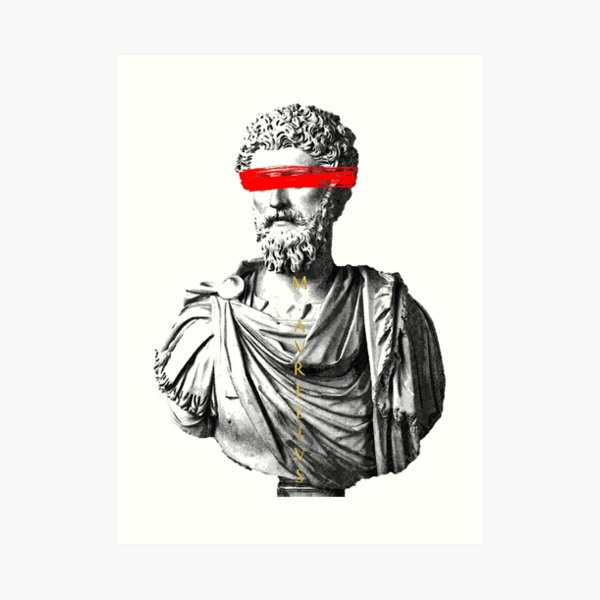 Marco Aurelio Lámina artística