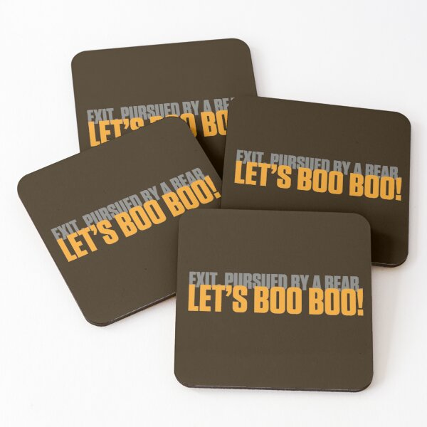 Let's Boo Boo! Coasters (Set of 4)