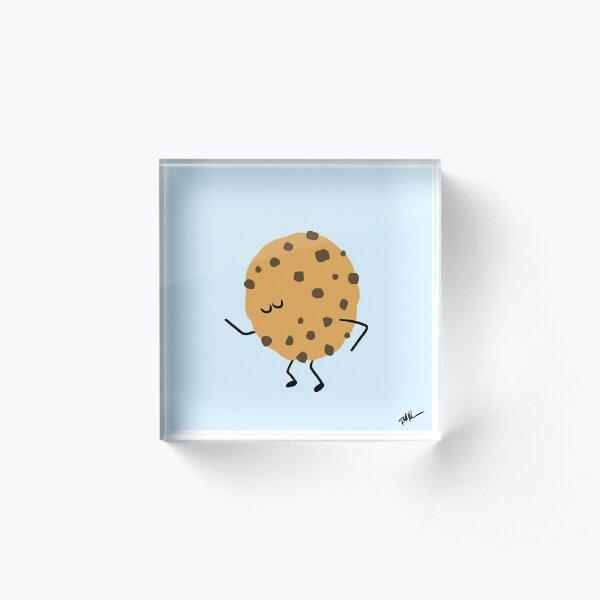 Dancing Dessert: Groovy Cookie Acrylic Block
