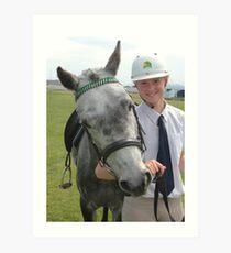 My Pony Calendar 2011 - Royal Hobart Show Tasmania - No 5 Art Print