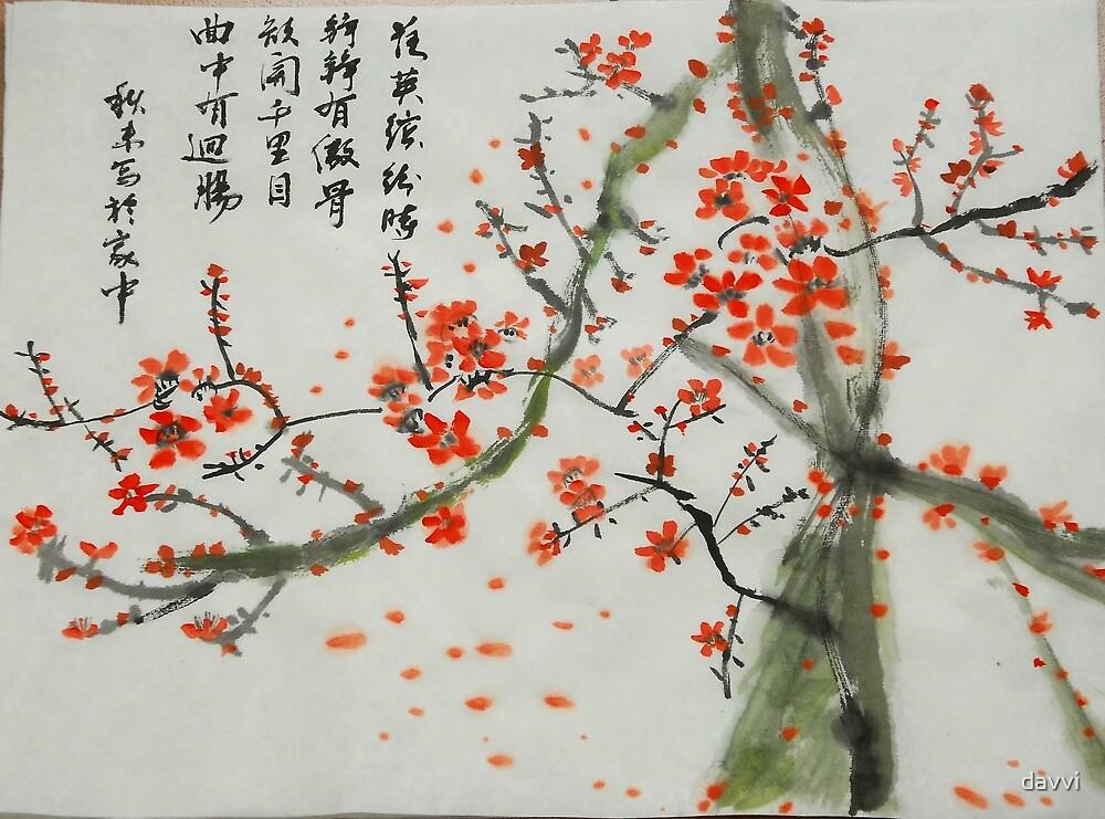 flower blossomed by davvi