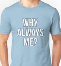 Mario Balotelli - Why Always Me Manchester City Slim Fit T-Shirt