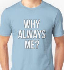 Mario Balotelli - Why Always Me Manchester City T-Shirt