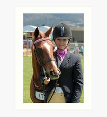 My Pony Calendar 2011 - Royal Hobart Show Tasmania - No 6 Art Print