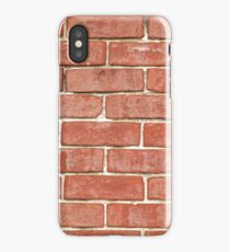 RED BRICK - IPHONE CASE iPhone Case/Skin