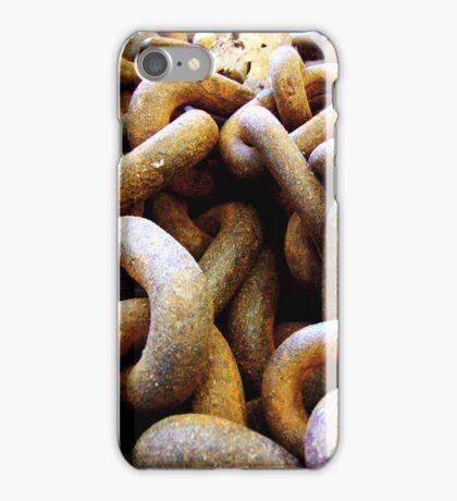 RUSTY CHAIN - IPHONE CASE iPhone Case/Skin