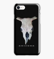 Old Cow Skull tee iPhone Case/Skin