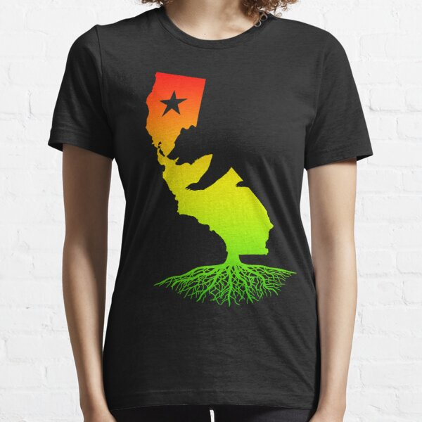 California Roots (rasta surfer colors) Essential T-Shirt