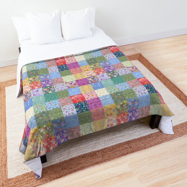 Hand-me Down Patchwork Quilt by Tea with Xanthe Comforter
