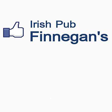 Like Finnegan's Irish Pub on Facebook! by FinnegansNbg