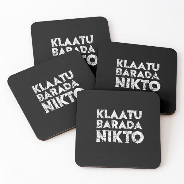 Klaatu Barada Nikto Coasters (Set of 4)