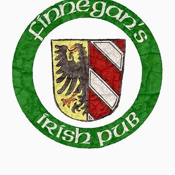 Finnegan's Irish Pub Nuremberg Wappen by FinnegansNbg