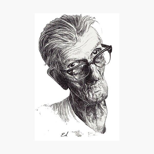 Ed Portrait Photographic Print