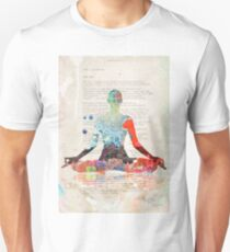 Atlantida Yoga Book Unisex T-Shirt