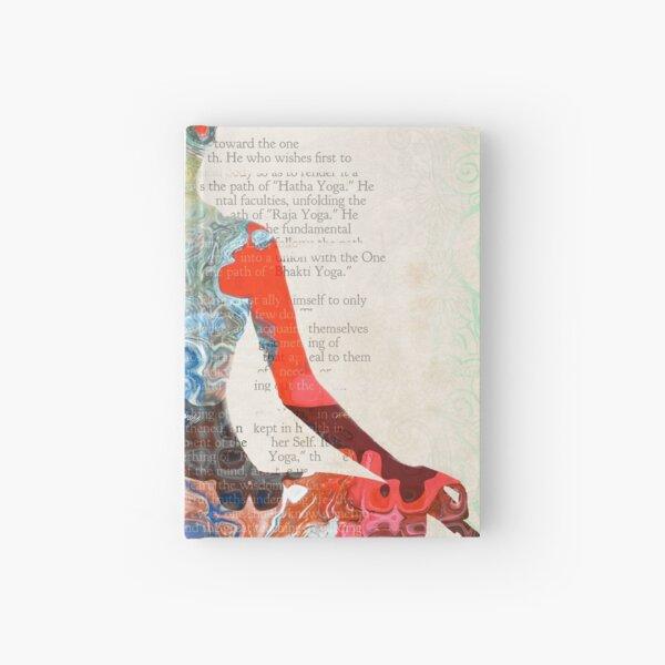 Atlantida Yoga Book Hardcover Journal