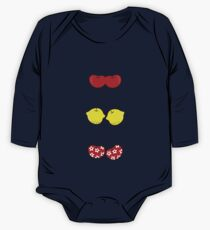 Fun Cute Cheeky Cherries Trio Kids Clothes