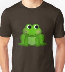 Cute Green Froggy Unisex T-Shirt
