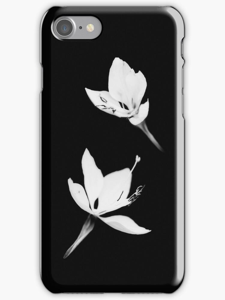 White Black [iPhone / iPod Case] by Damienne Bingham