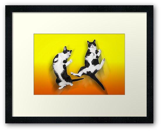 Feline It! - Color Version by ArtThatSmiles