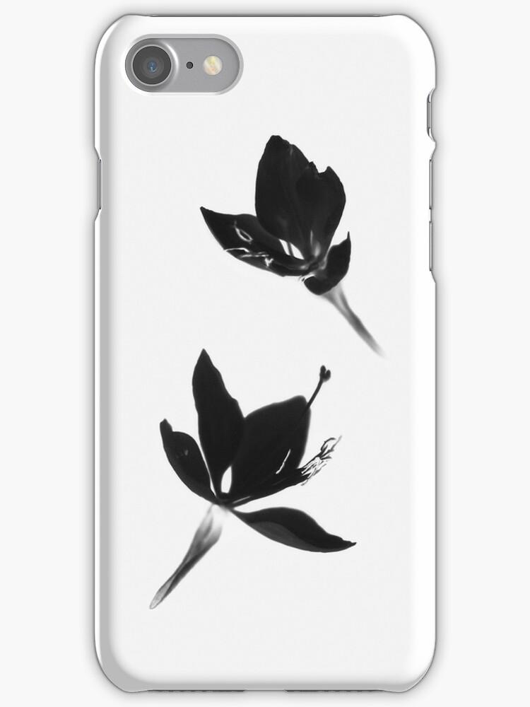 Black|White [iPhone / iPod Case] by Damienne Bingham
