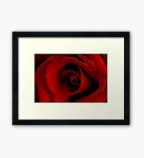 ~ scarlet fever ~ Framed Print