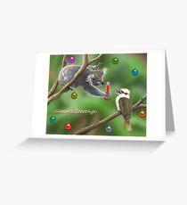 bush christmas Greeting Card