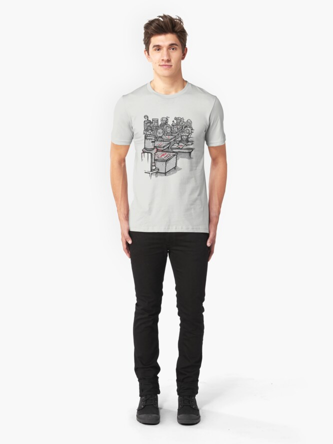 Alternate view of None Shall Pass Slim Fit T-Shirt