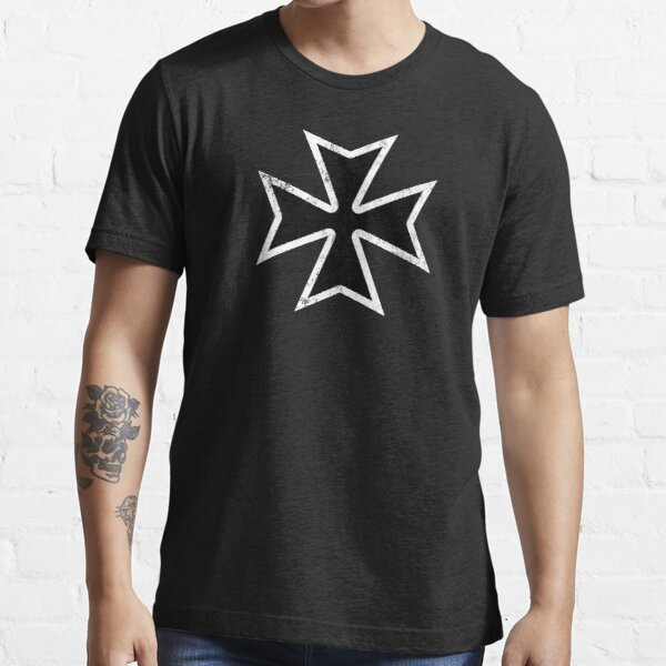 Templar Crusader Grunge Essential T-Shirt