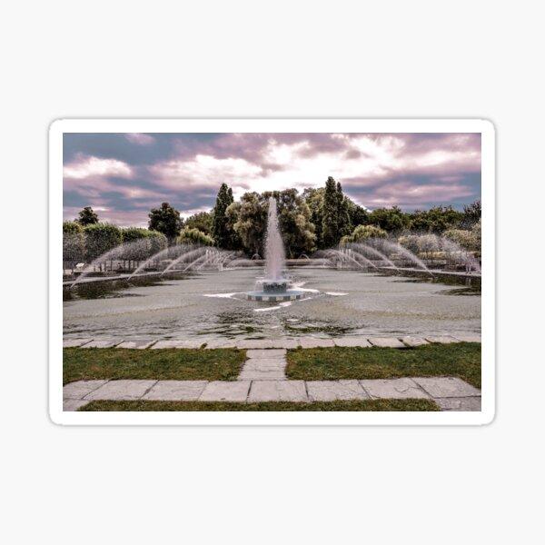 Fountain #1 Sticker