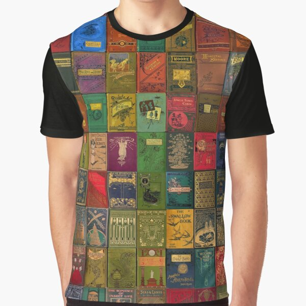 Gorgeous Victorian Book Covers 2 Graphic T-Shirt