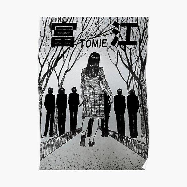 Tomie Junji Ito Poster Poster