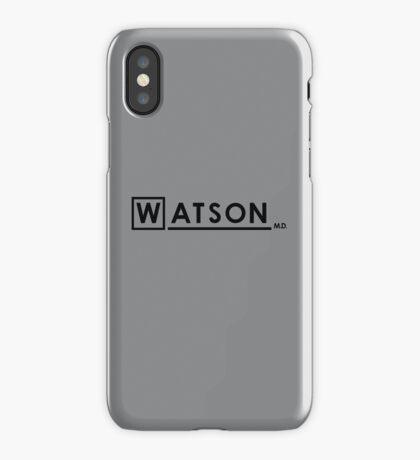 WATSON M.D. iPhone Case/Skin