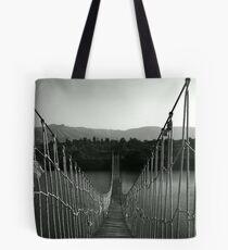 Hanging Bridge Tote Bag