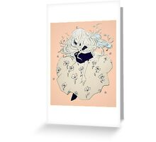sprouting thoughts. Greeting Card