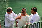Baptised in the Jordan river #1 by Moshe Cohen