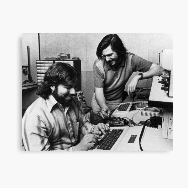 Jobs & Wozniak Canvas Print