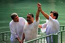 Baptised in the Jordan river #2 by Moshe Cohen