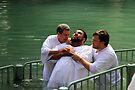 Baptised in the Jordan river #3 by Moshe Cohen